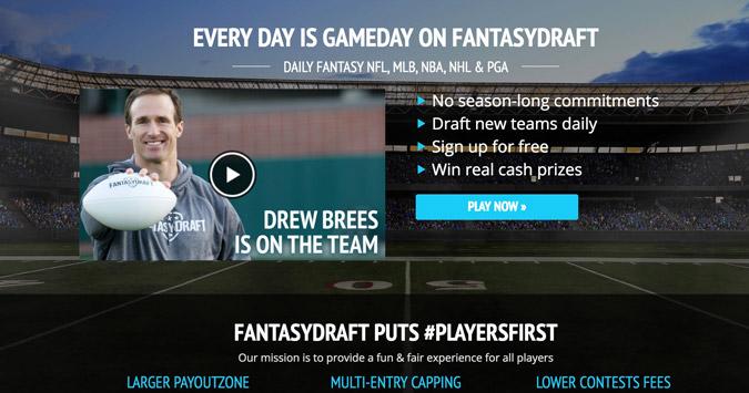 best dfs fantasy draft