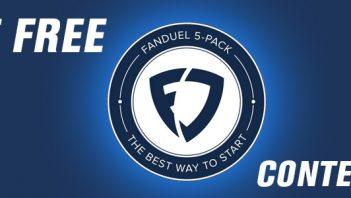 fanduel 5 free contests