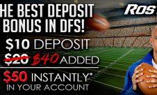 rosters deposit bonus