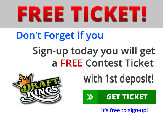 draftkings free contest ticket