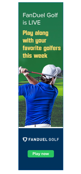 FanDuel Golf Now Live - Play Now